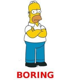 simpsons homer-boring