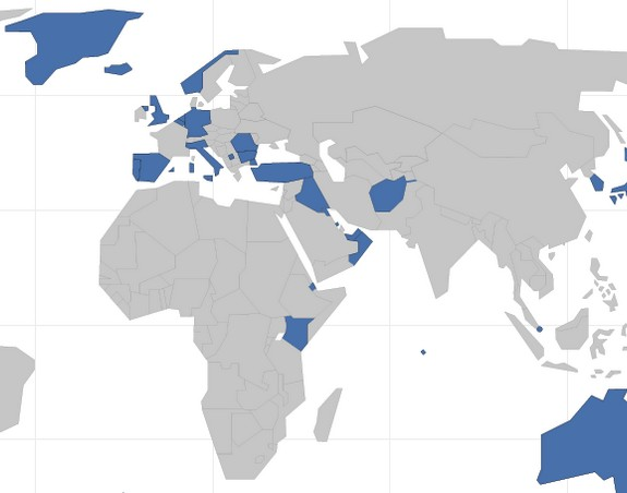 baza USA u evropi